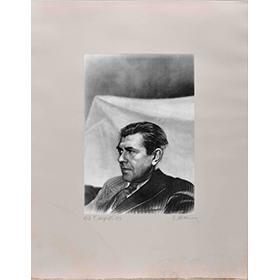 Le portrait de René Magritte