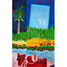 Banner Painting 2 - the miror